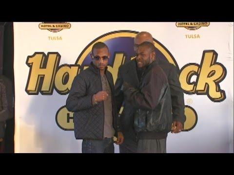 Mike Tyson in Tulsa for Hard Rock Hotel and Casino press conference