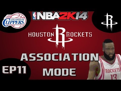 NBA 2K14 Association Mode: Houston Rockets Season Challenge - Francisco Garcia Game [Y1R2G5 EP11]