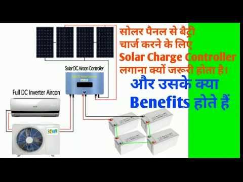 Solar Charge Controller # Regulator 12V-24V-48V Working Theory MPPT vs PWM