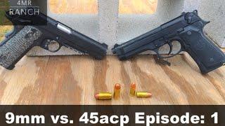 9mm vs 45 acp cinder block penetration test
