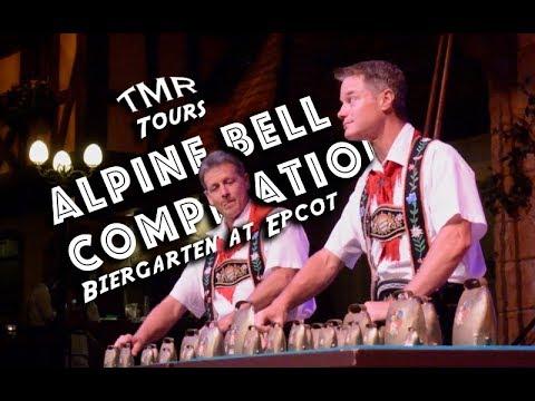 Germany Biergarten at Epcot | Alpine Bells Compilation