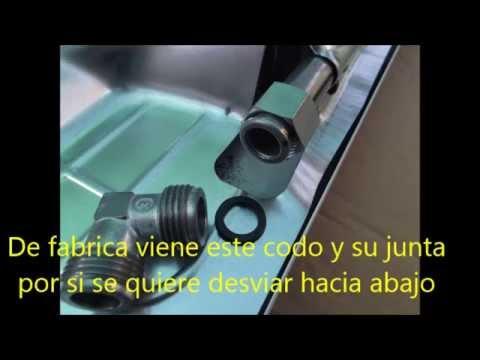 Instalaci n cocina encimera gas youtube for Encimeras de cocina