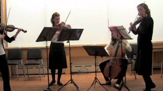Geminiani - Concerto Grosso in D minor, op. 3 no. 4, V. Vivace (on period string quartet)