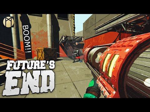 """Game"" Future's End ☆ NEW GUN! ROCKET LAUNCHER GAMEPLAY! (TEST)  "