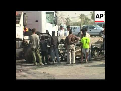 WRAP Suicide bombing in Baghdad kills 14, roadside bomb a'math, bomb in Kirkuk kills 1
