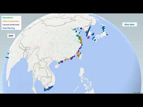 Offshore Wind Capacity in Asia by 2034