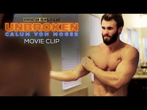 Calum Von Moger: Unbroken MOVIE CLIP   Losing 50 Pounds Of Muscle