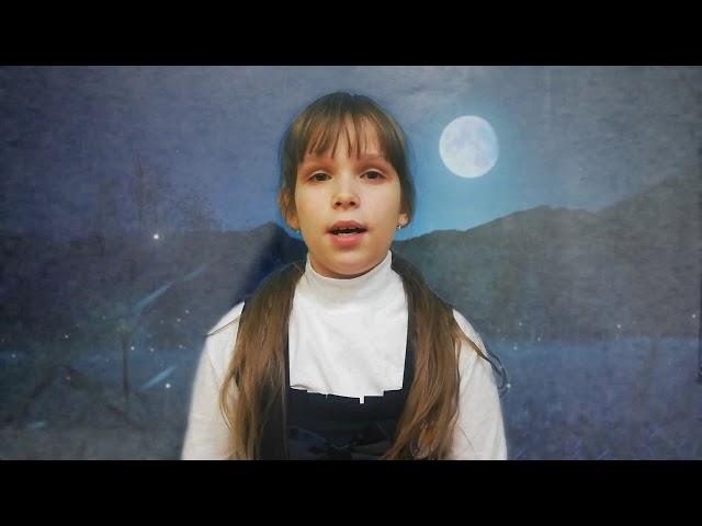 Изображение предпросмотра прочтения – ВикторияЧермянина читает произведение «Ночь» С.А.Есенина