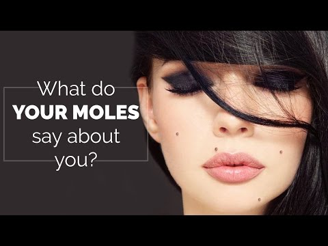 What do your moles say about you   Moles on body