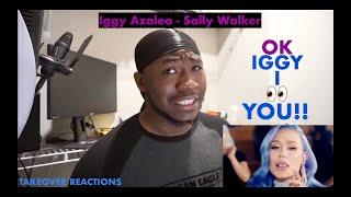Iggy Azalea - Sally Walker (Official Music Video) REACTION!!!!!