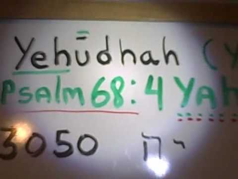 Yahusha Not Jesus, The True Name Of The Son Of Yahuah | The