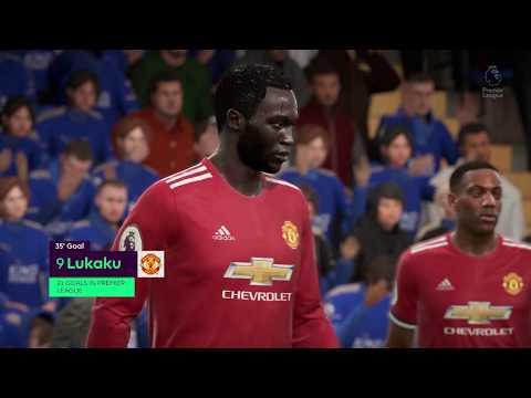 Fifa 18 Leicester City - Man Utd PL (0-8) (Legendary)