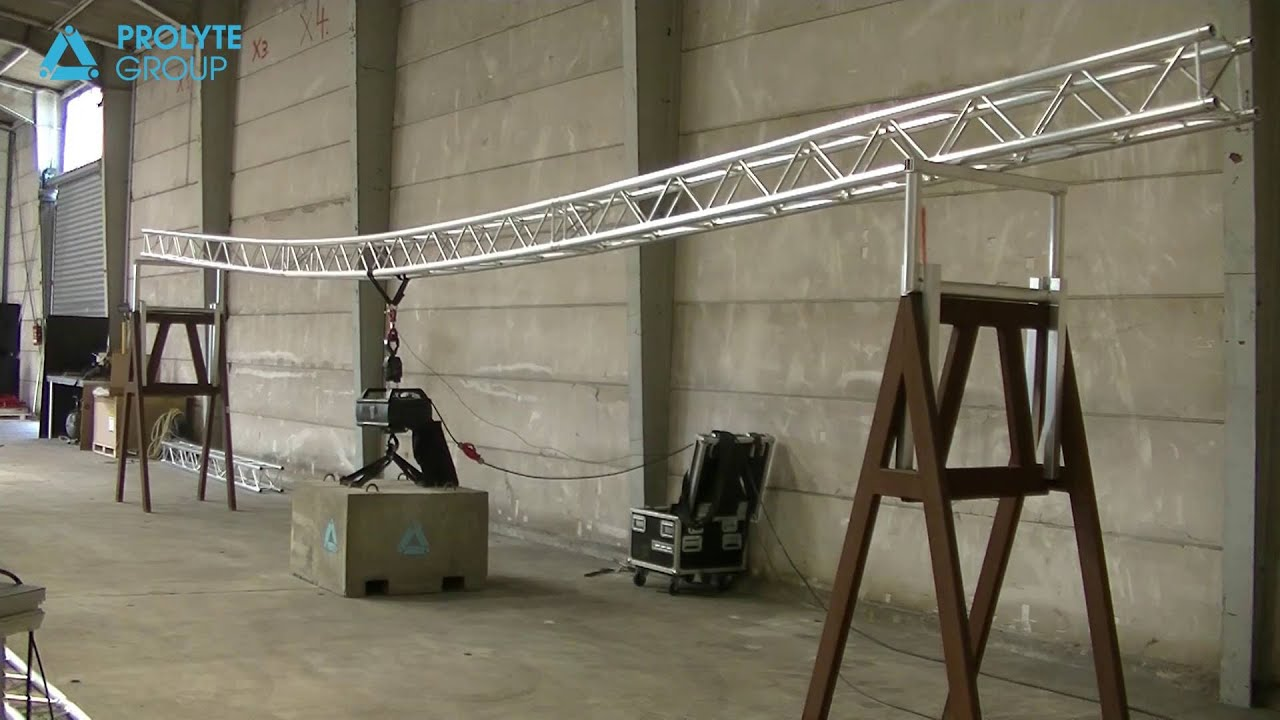 Prolyte Campus: Truss loading in theory and practice | Prolyte