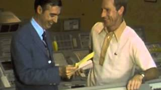 Fred Rogers interviews Apollo 15 astronaut Al Worden