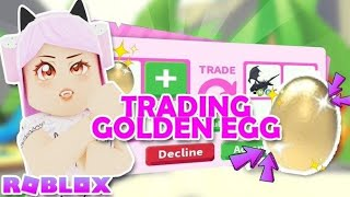 What People Trade For A GOLDEN EGG! | ROBLOX Adopt Me