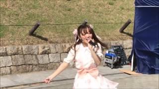 2017年5月14日 城天アイドルストリート @大阪城公園 いのうえまなみ.