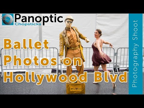 Ballerina Photography on the streets of Hollywood! Creating amazing photos!