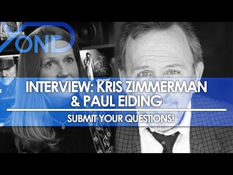 Kris Zimmerman & Paul Eiding Interview Incoming! Submit Your Questions!