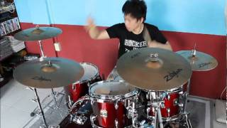 Black Veil Brides - Fallen Angels Drum Cover