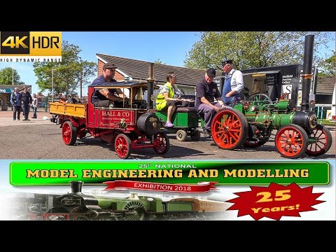 2018 Model Engineering and Modelling Exhibition - 25th - Doncaster