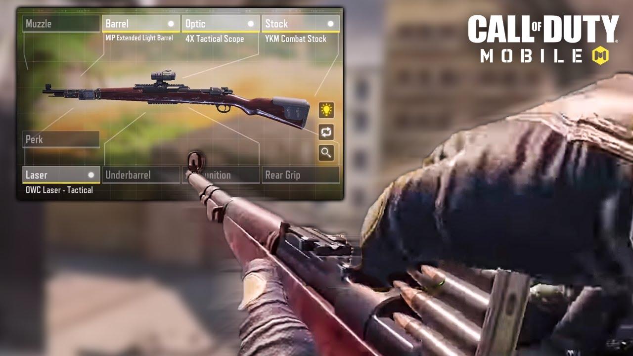 *NEW* Kilo Marksman Rifle Gameplay in COD Mobile (Kar-98k)