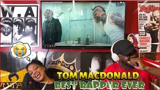 TOM MACDONALD- BEST RAPPER EVER| Reaction😂🙌🏾🔥
