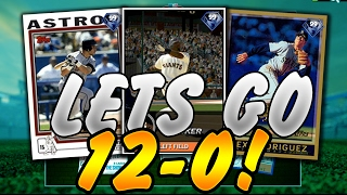 CAN WE GO 12-0?! MLB The Show 16 | Battle Royale