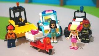 Лего гонки! Машинки Лего сити решили проверить кто быстрее! Видео для детей.(Машинки в городе Лего решили проверить свои силы на гоночной трассе. Участвуют: Стефани из пиццерии - на..., 2015-12-09T15:31:44.000Z)