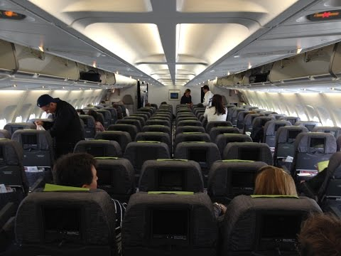Turbulence Area Flight TAP Portugal Airbus A330 Lisbon Airport to Rio de Janeiro GIG