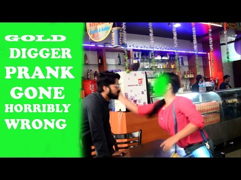 GOLD DIGGER PRANK (GONE HORRIBLY WRONG) - IN DELHI (INDIA) by SAADE SAATI