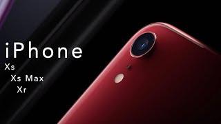 Os novos iPhone Xs, Xs Max e Xr - Novo Apple Watch 4