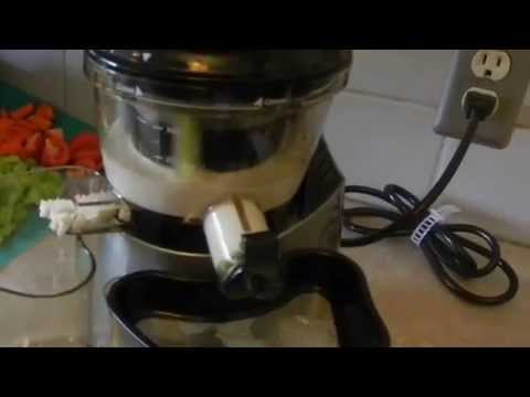 Slow Juicer Nut Milk : Homemade Almond Milk with Kuvings Doovi