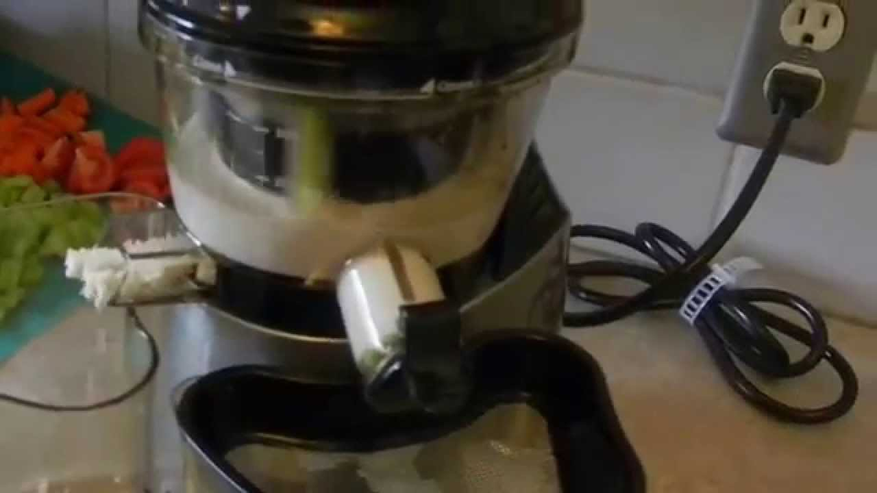 Almond Milk In Slow Juicer : How to Make Almond Milk with a vertical Slow Juicer, Omega vRT400, vSJ843, Tribest SlowStar ...
