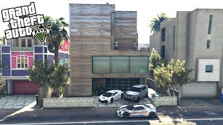 GTA 5 MY HIGHLY SECURED PRIVATE BEACH HOUSE MANSION!! - $45,000,000 (GTA 5 Mods)