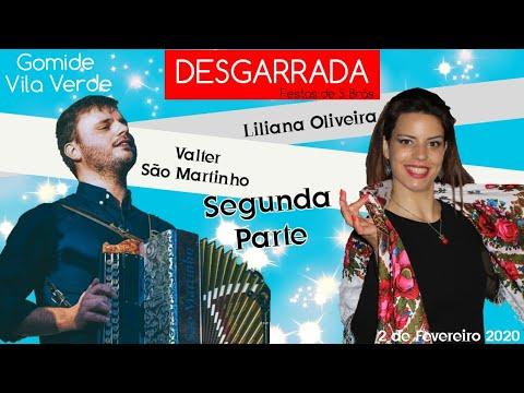Desgarrada / Cantares ao desafio entre Liliana Oliveira e Valter São Martinho ( parte 2) 2/2/2020