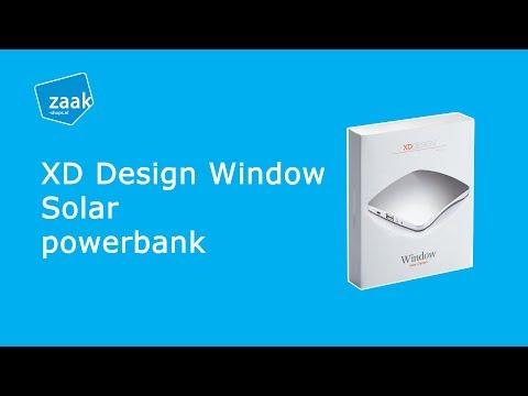 XD Design Window solar powerbank - review