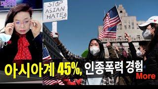아시아계 45% 폭력경…