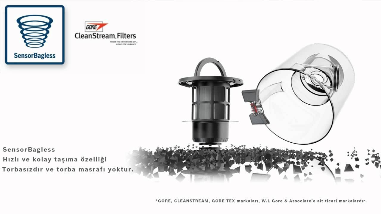 bosch roxx pro silence elektrik s p rgesi sensorbagless youtube. Black Bedroom Furniture Sets. Home Design Ideas