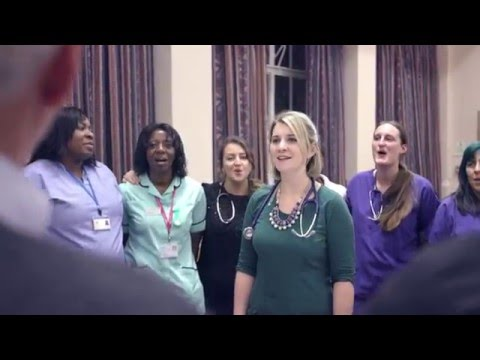 NHS Choir - A Bridge Over You #LoveYourNHS 2015 #XmasNo1