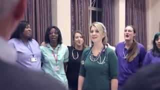 nhs choir a bridge over you loveyournhs 2015 xmasno1