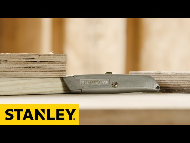 STANLEY® 10-099 Blade Change Instructions