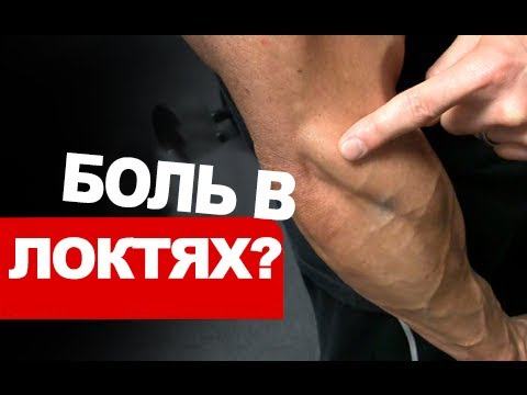 Локти болят после отжиманий