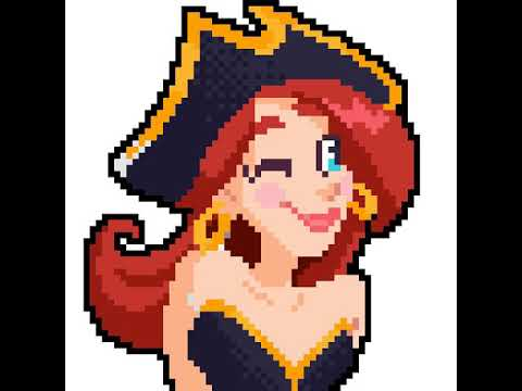10ème Pixel Art Fille Pirate Youtube