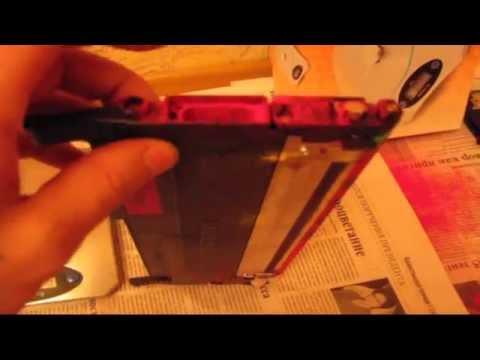 Заправка цветного картриджа лазерного принтера Samsung CLX-3185