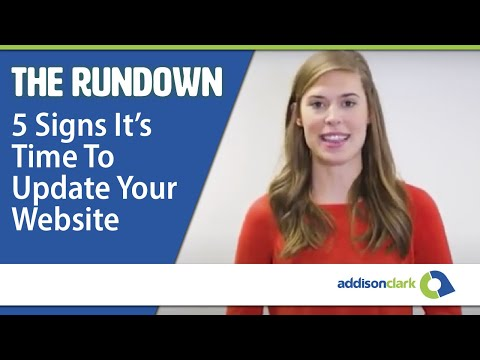 The Rundown: 5 Signs It's Time To Update Your Website