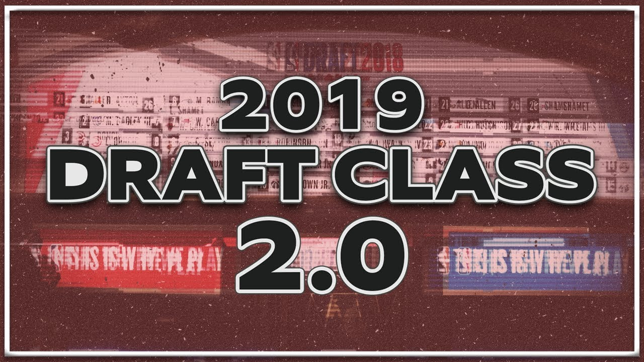 NBA 2K19 - 2019 NBA Draft Class (Update 2 0) (60 Prospects) (Realistic  Faces) (PS4)