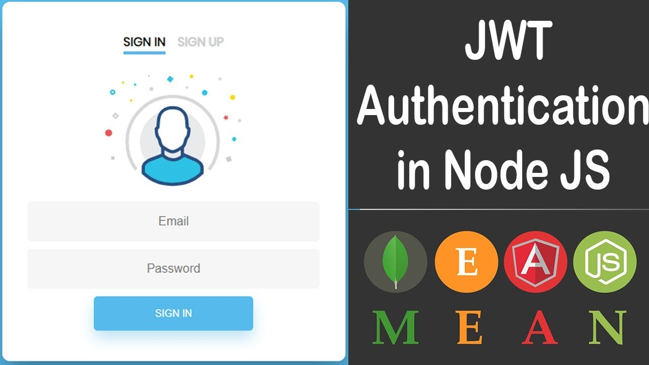 JWT Authentication in Node JS With MEAN Stack Application