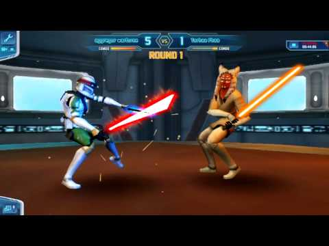 star wars the clone wars adventures online lightsaber duel youtube. Black Bedroom Furniture Sets. Home Design Ideas