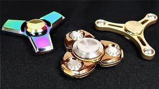 BEST METAL FIDGET SPINNERS (SUPER RARE!)