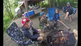 Camping at Grayson HighĮands State Park in Virginia